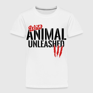 wild animal unleashed - Toddler Premium T-Shirt