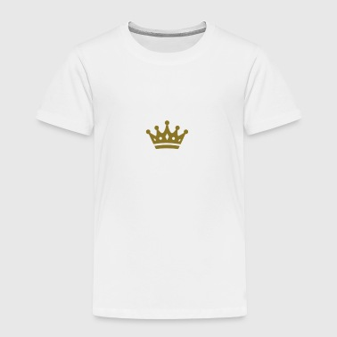 Gold crown - Toddler Premium T-Shirt