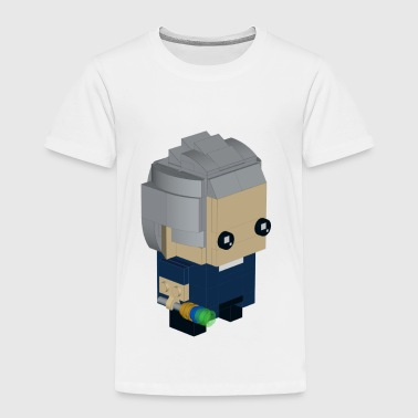 Brick Peter Capaldi, the Twelfth Doctor - Toddler Premium T-Shirt