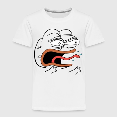 Angry Pepe the Frog - Toddler Premium T-Shirt