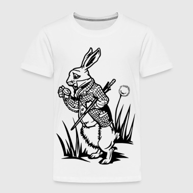 The White Rabbit - Toddler Premium T-Shirt