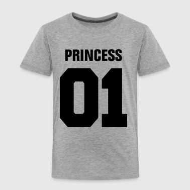 Princess 01 Family Daughter Mother Couple Girl  - Toddler Premium T-Shirt