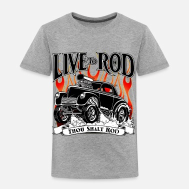 Hot 41-Willys-Gasser-Black - Toddler Premium T-Shirt