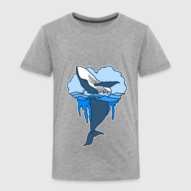 Big whale - Toddler Premium T-Shirt