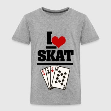 I Love Skat - Toddler Premium T-Shirt