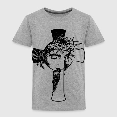 Jesus Cross - Toddler Premium T-Shirt