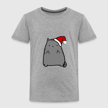 Christmas Kitty - Toddler Premium T-Shirt