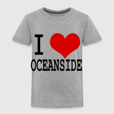 I HEART OCEANSIDE - Toddler Premium T-Shirt