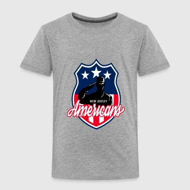 NEW JERSEY AMERICANS - Toddler Premium T-Shirt