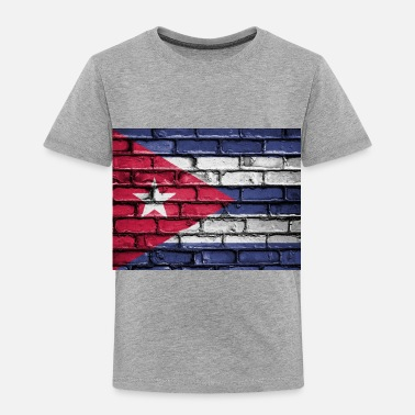 Cuban flag cuban - Toddler Premium T-Shirt