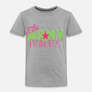Little Army Princess - Toddler Premium T-Shirt