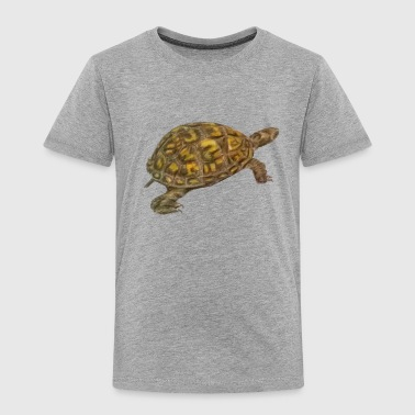 Box Turtle - Toddler Premium T-Shirt