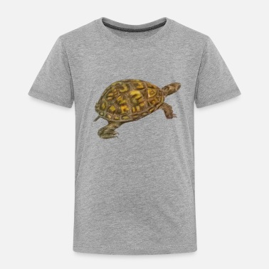 Turtle Box Turtle - Toddler Premium T-Shirt