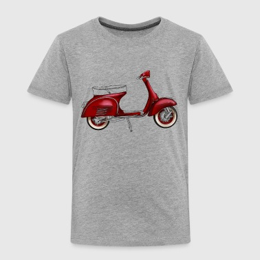 Scooter Scooter - Toddler Premium T-Shirt