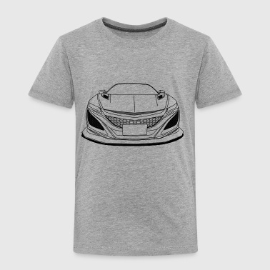 cool jdm car outlines - Toddler Premium T-Shirt
