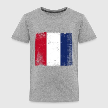 Used French Flag - Toddler Premium T-Shirt