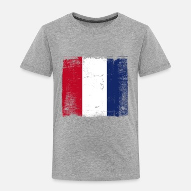 French Flag Used French Flag - Toddler Premium T-Shirt
