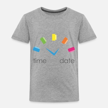 Date Time and Date - Toddler Premium T-Shirt
