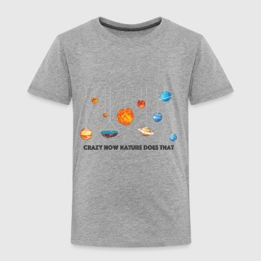 Flat Earth solar system - Toddler Premium T-Shirt