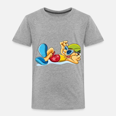 Relax relaxed - Toddler Premium T-Shirt