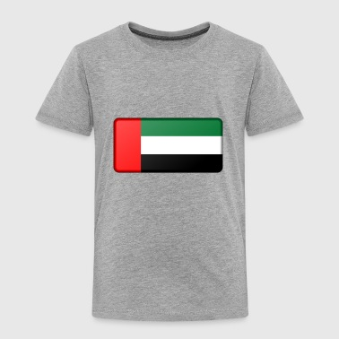 United Arab Emirates Flag - Toddler Premium T-Shirt