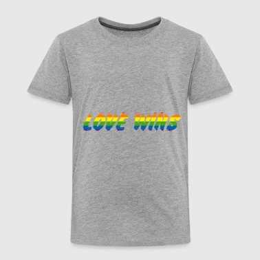 love wins - Toddler Premium T-Shirt