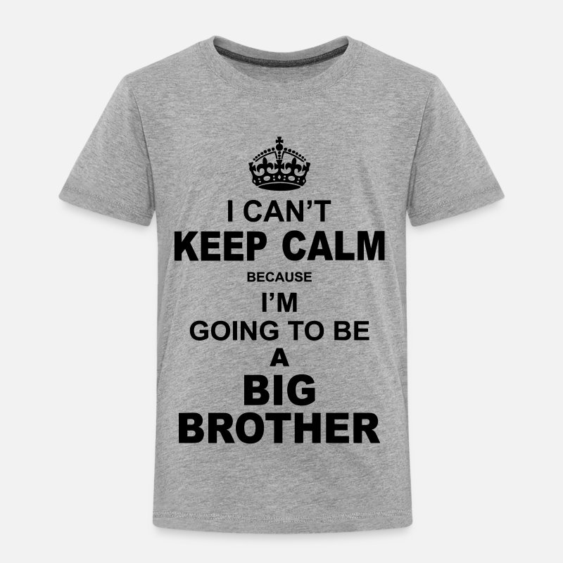 d2f420fd Shop Big Brother Baby & Toddler Shirts online | Spreadshirt