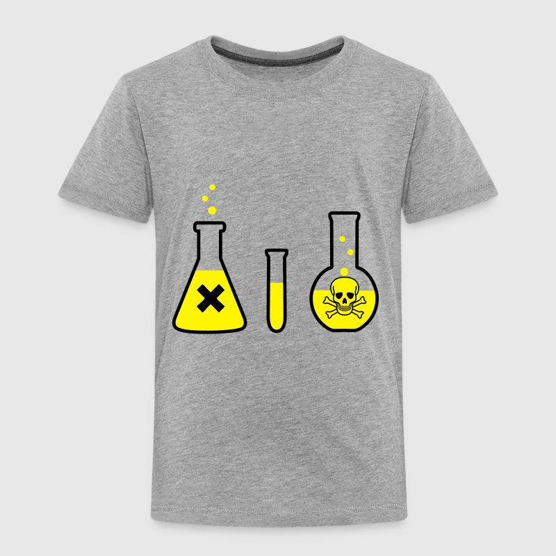 Chemistry, Science - Danger! (2 colors) - Toddler Premium T-Shirt