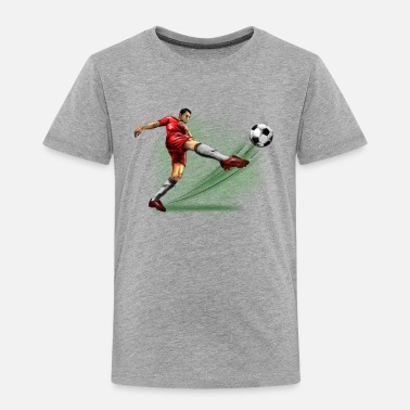 Soccer soccer player - Toddler Premium T-Shirt