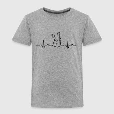 Blue Heeler Clothing Blue Heeler Heartbeat Shirt - Toddler Premium T-Shirt