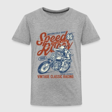 Speed Racer Vintage Classic Racing - Toddler Premium T-Shirt