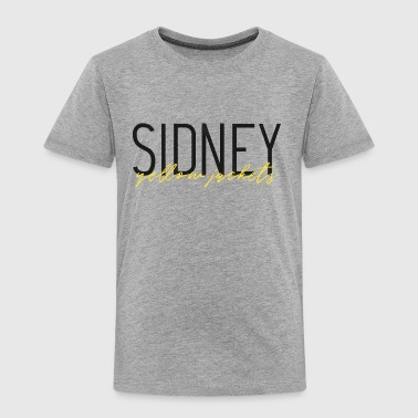 Sidney Sidney Yellow Jackets - Toddler Premium T-Shirt