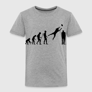 Provocation Evolution American Football Rugby Broken Leg Foot - Toddler Premium T-Shirt