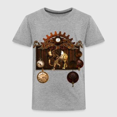 Steampunk elephant - Toddler Premium T-Shirt