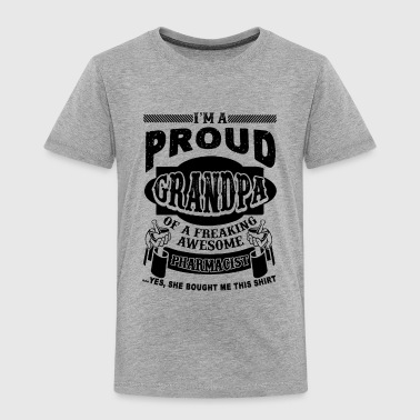 Proud Pharmacist Grandpa Shirt - Toddler Premium T-Shirt