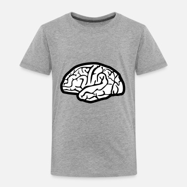 Brain Brain, brains - Toddler Premium T-Shirt