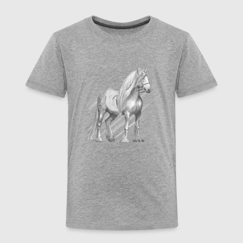 Cold-blooded horse - Toddler Premium T-Shirt