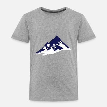 Mountaineering Mountains - Toddler Premium T-Shirt