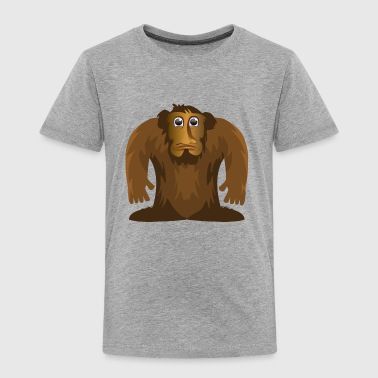 Bigfoot - Toddler Premium T-Shirt
