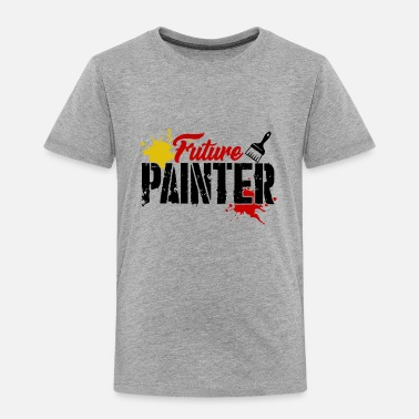 Painter Future Painter Shirt - Toddler Premium T-Shirt