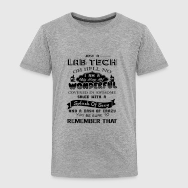 Lab Tech Wonderful Shirt - Toddler Premium T-Shirt