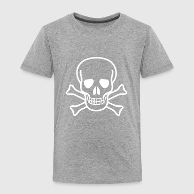 Skull and Crossbones - Toddler Premium T-Shirt