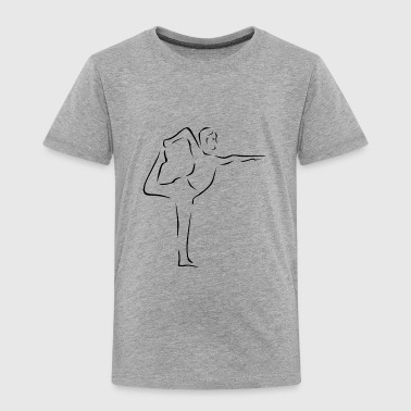 yoga - Toddler Premium T-Shirt