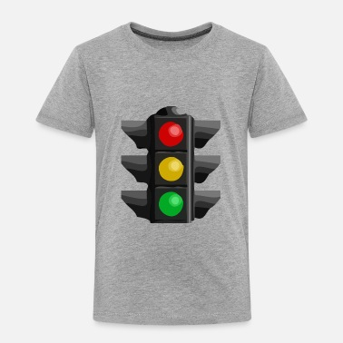 Traffic Traffic Light - Toddler Premium T-Shirt