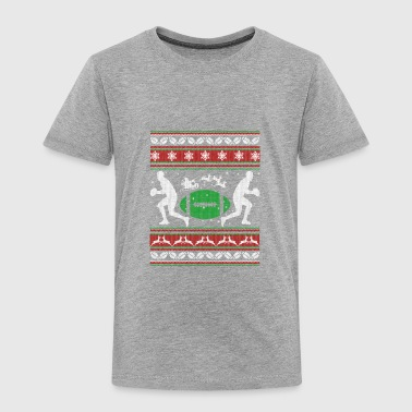 Rugby Cloth Rugby Shirt - Rugby Christmas Shirt - Toddler Premium T-Shirt