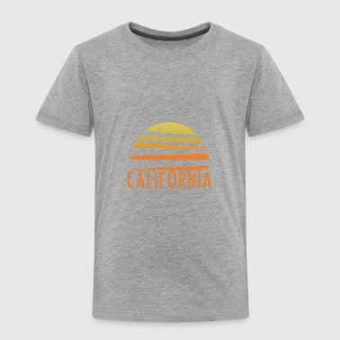 California Vintage Retro - Toddler Premium T-Shirt
