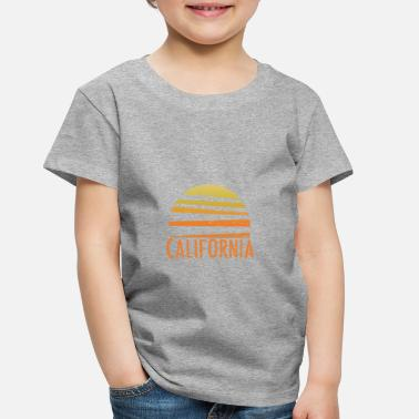 Cool California Vintage Retro - Toddler Premium T-Shirt