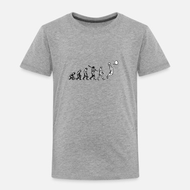 Evolution The Evolution of Human to Basketball - Toddler Premium T-Shirt