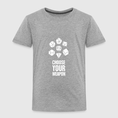 d20 Roleplaying Game | Board Gaming - Toddler Premium T-Shirt
