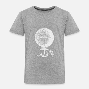Hot Air Balloon Vintage Hot Air Balloon - Toddler Premium T-Shirt